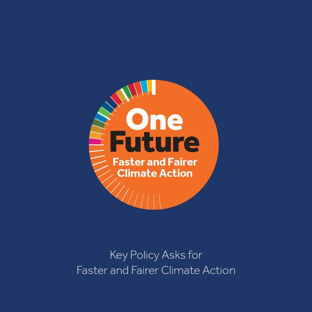 One Future Policy Asks